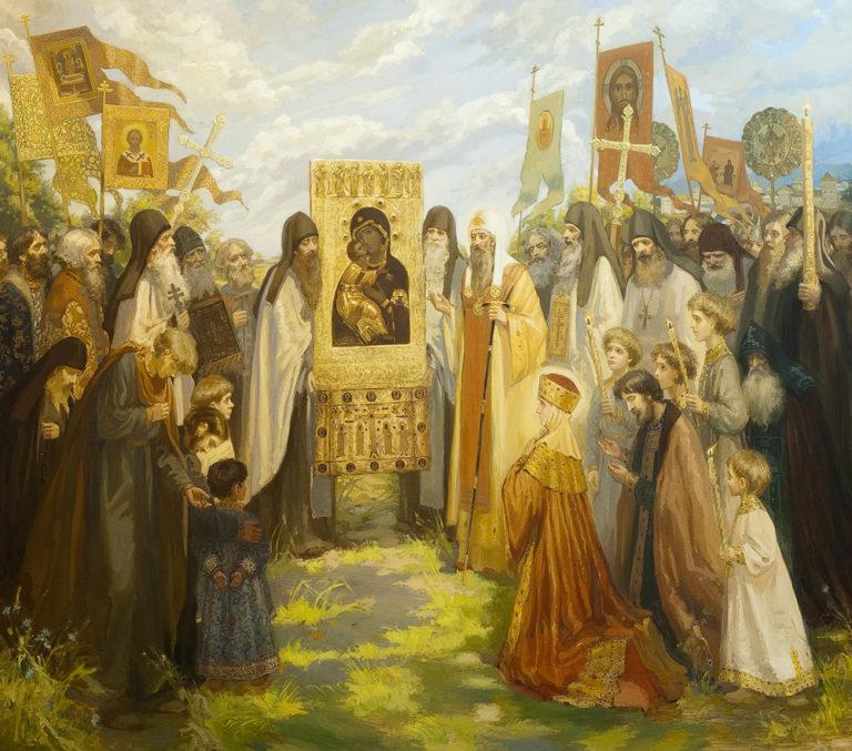 О Сретении Владимирской иконы и монастыре в честь этого события