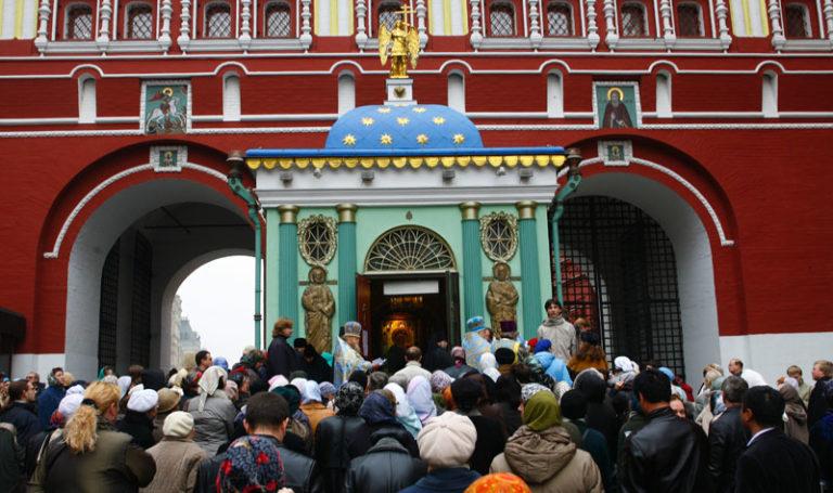 Иверская часовня и Иверские иконы в Москве